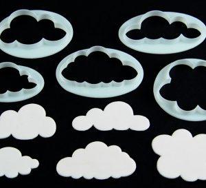 """Ausstecher """"Wolken"""""""