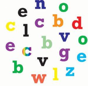 Alphabet & Numbers Set, klein