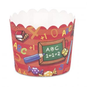 "Cupcake Backformen Mini ""Schulanfang"""