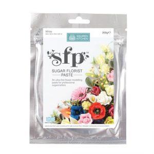 Squires Kitchen Blütenpaste, weiss
