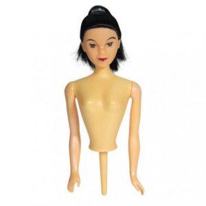 Barbie-Puppenkörper, schwarz
