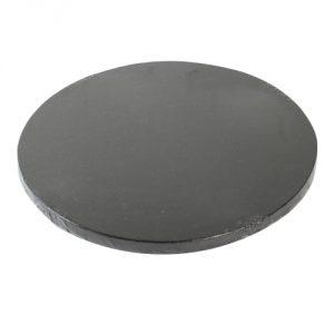 Cakeboard, rund 30 cm, schwarz